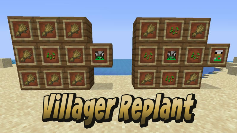 Villager Replant Mod