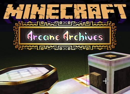 Arcane Archives Mod for Minecraft