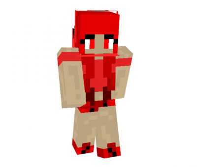 Bad Foxy Skin | Minecraft Girl Skins