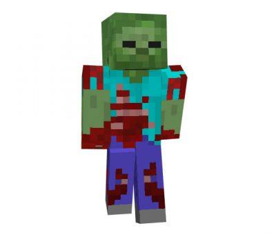 Bloody Zombie Skin
