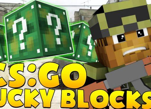 CS:GO Lucky Block Mod for Minecraft