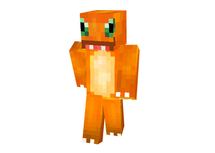 Charmander Skin (Pokemon) for Minecraft