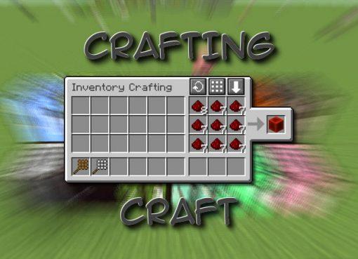 CraftingCraft Mod for Minecraft