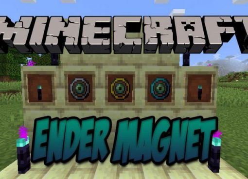 Ender Magnet Mod for Minecraft