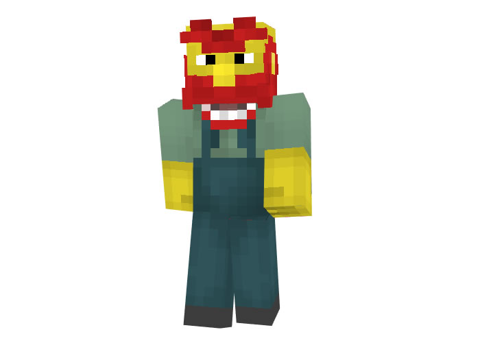 Groundskeeper Willie (The Simpsons) Skin for Minecraft