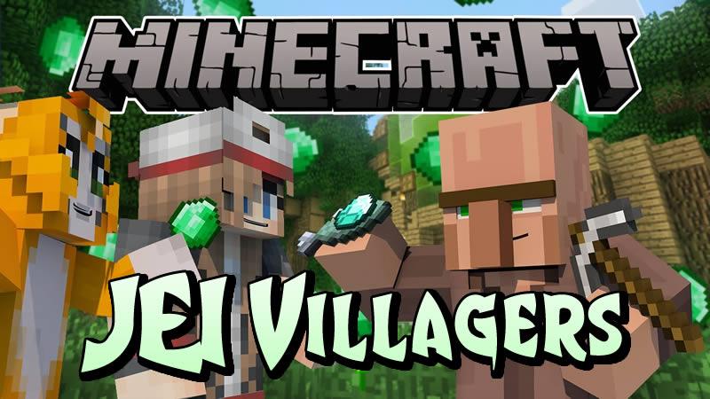 JEI Villagers Mod