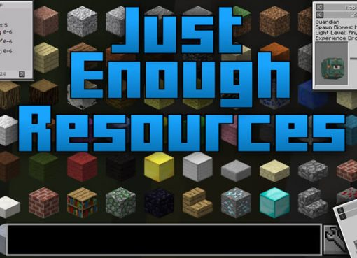 Just Enough Resources Mod for Minecraft