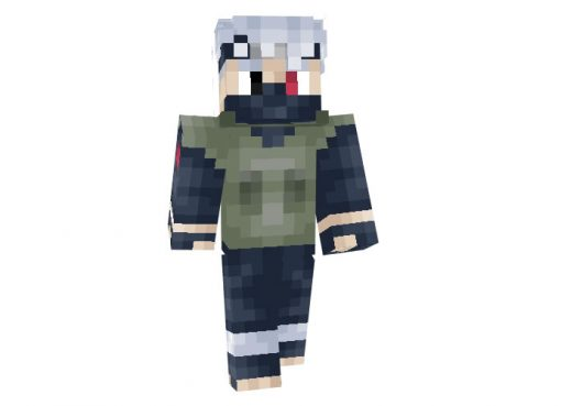 Kakashi Hatake (Naruto) Skin for Minecraft