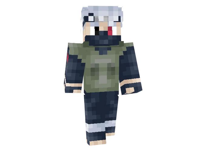 Kakashi Hatake (Naruto) Skin for Minecraft