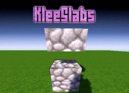 KleeSlabs Mod for Minecraft