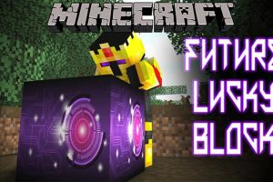 Lucky Block Future Mod for Minecraft