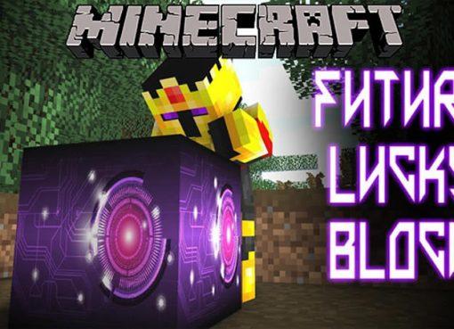 Lucky Block Future Mod for Minecraft