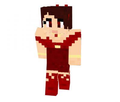 Melisandre Skin for Minecraft (Game of Thrones)