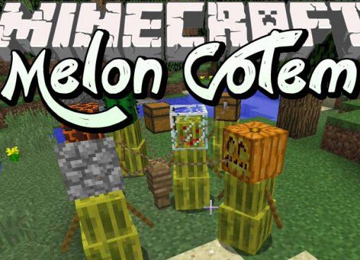 Melon Golem Mod for Minecraft