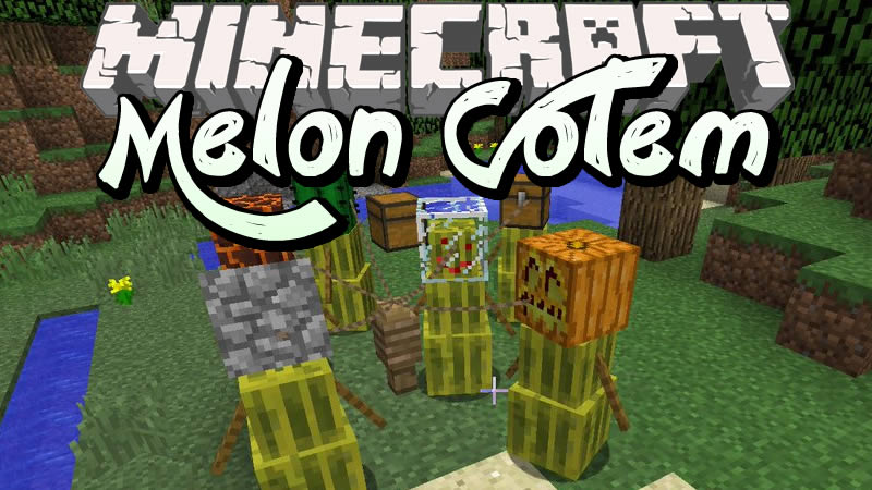 Melon Golem Mod for Minecraft