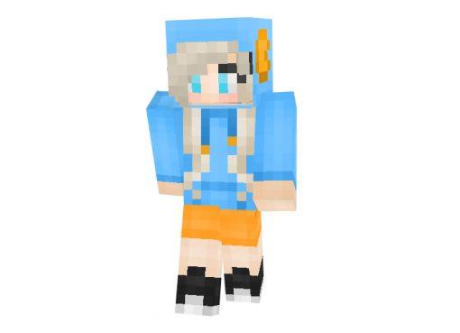 Mudkip Girl | Minecraft Skins