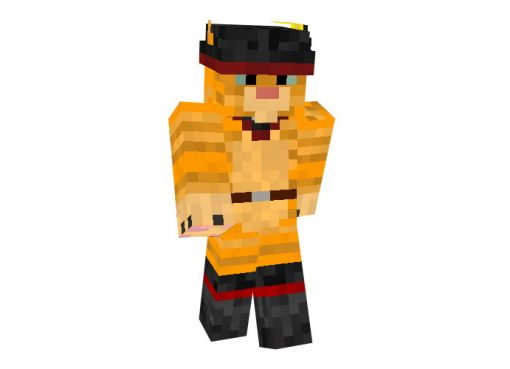 Puss in Boots (Shrek) Skin for Minecraft Download