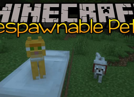 Respawnable Pets Mod for Minecraft