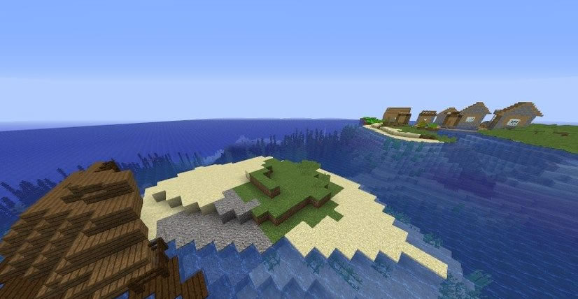 Ruins With Treasure Map Seed Screenshot