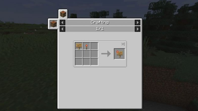 Sign Button Mod Screenshot 2