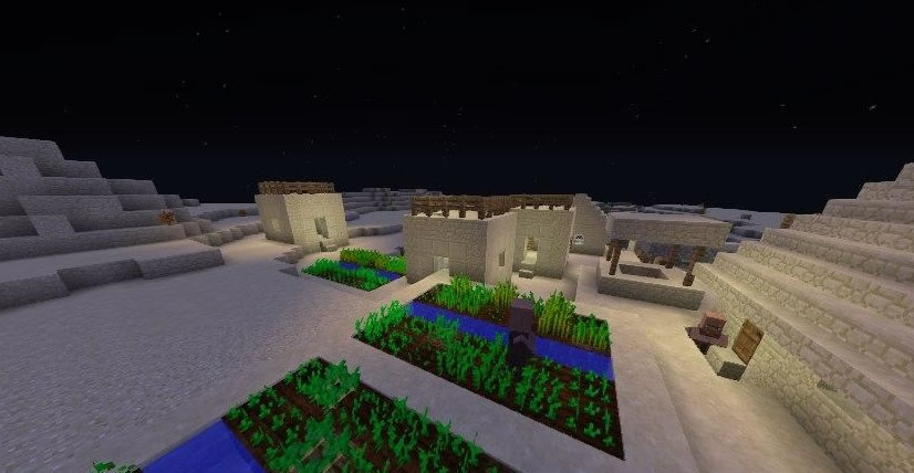 Six Villages and Two Desert Temples Seed Screenshot 2