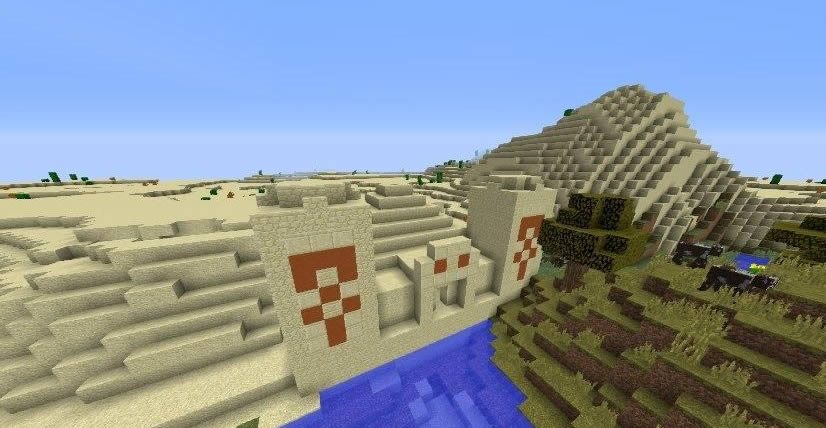 Six Villages and Two Desert Temples Seed Screenshot 3