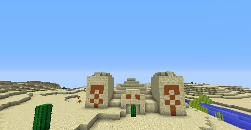 Six Villages and Two Desert Temples Seed Screenshot