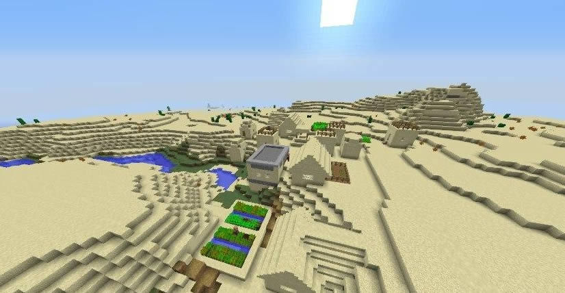 Six Villages and Two Desert Temples Seed for Minecraft 1.12.2