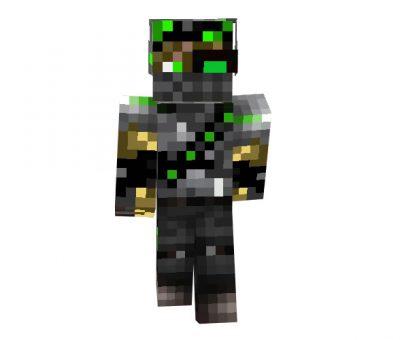 Tehno Hunter | Minecraft Robot Skins