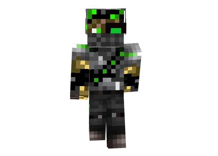 Tehno Hunter   Minecraft Robot Skins
