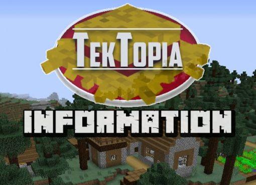 TekTopia Information Mod