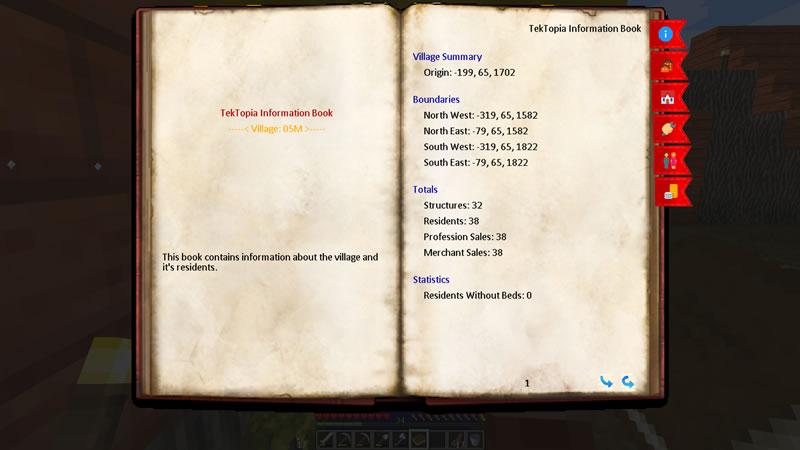 TekTopia Information Mod Screenshot 3