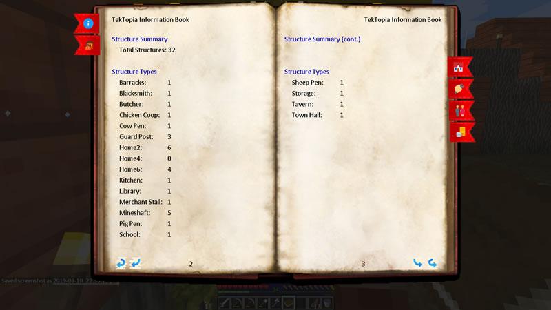 TekTopia Information Mod Screenshot 4