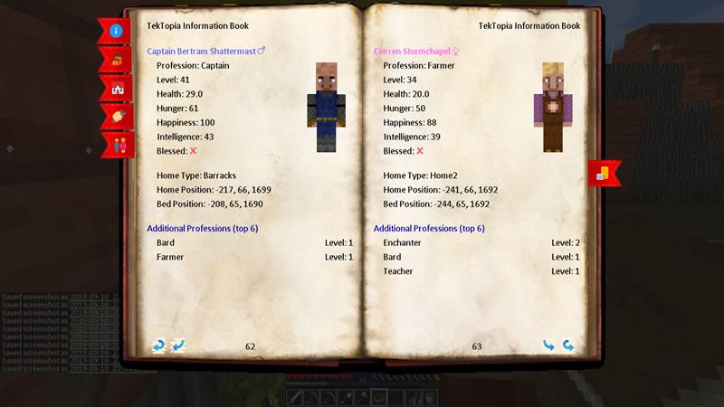 TekTopia Information Mod Screenshot 5