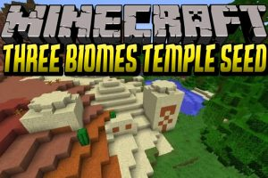 Three Biomes Temple Seed for Minecraft 1.12.2