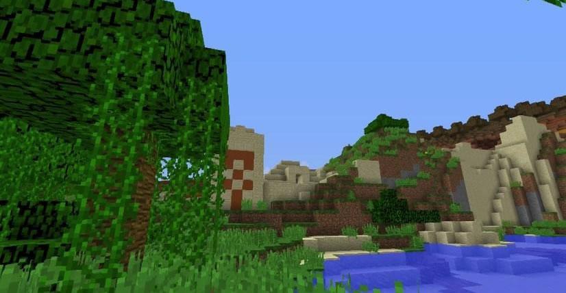 Three Biomes Temple Seed Screenshot 2