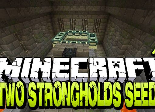 Two Strongholds Seed for Minecraft 1.15.2/1.14.4