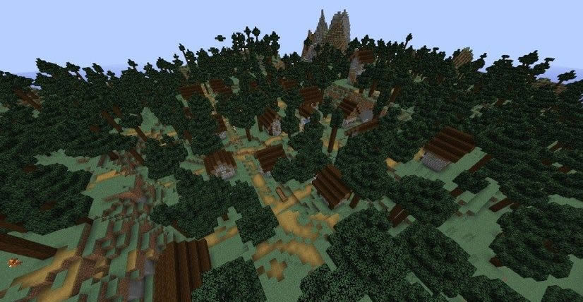 Two Villages in The Forest Seed Screenshot