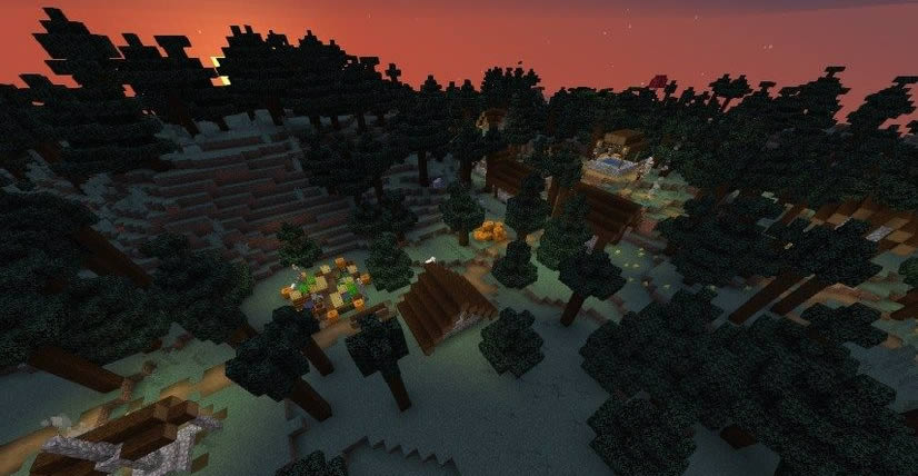 Two Villages in The Forest Seed 1.15.2