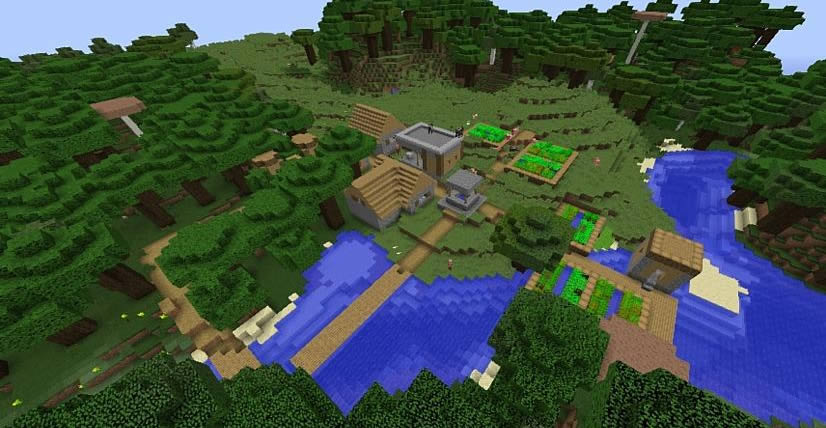 Witch's Hut and Village Seed Screenshot