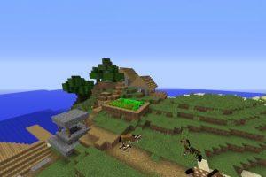 Beautiful Island Village Seed for Minecraft 1.12.2