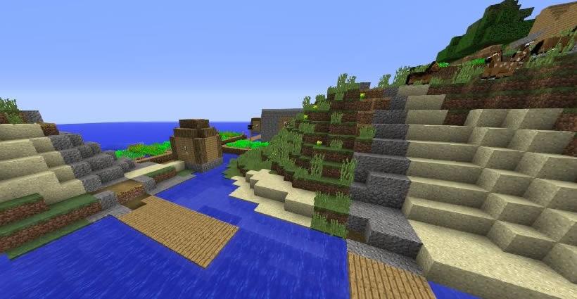 Beautiful Island Village Seed Screenshot
