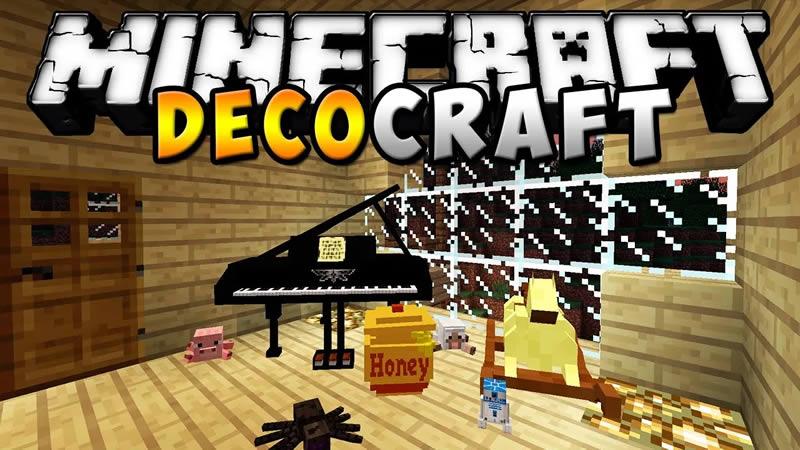 DecoCraft Mod