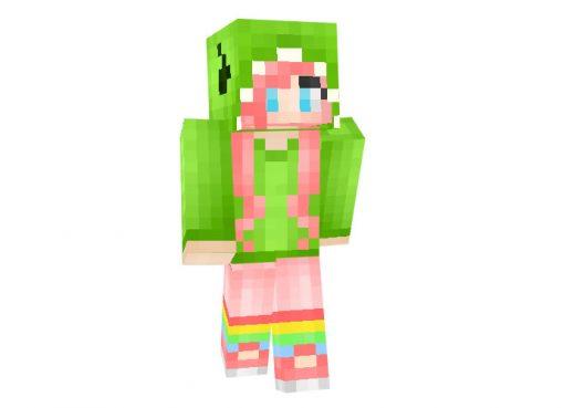 Dino Girl Skin