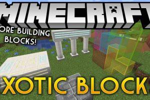 Exotic Blocks Mod