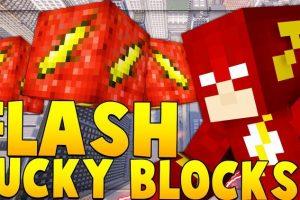 Flash Lucky Block Mod for Minecraft