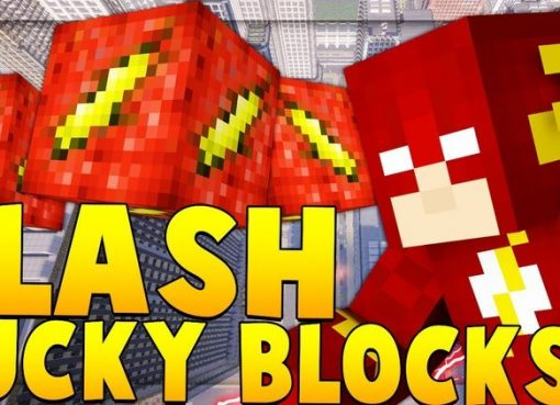 Flash Lucky Block Mod for Minecraft