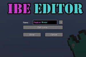 IBE Editor Mod