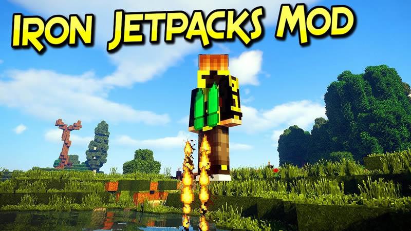 Iron Jetpacks Mod for Minecraft