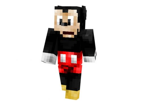 Mickey Mouse Skin for Minecraft